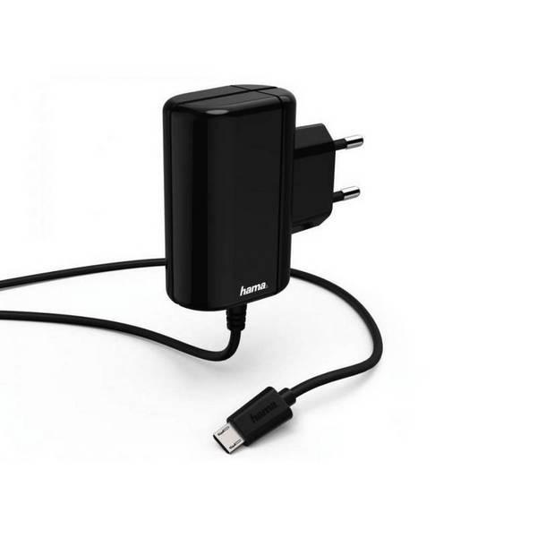 Зарядно устройство Hama 178260 220V/5V 2.4A MICRO USB